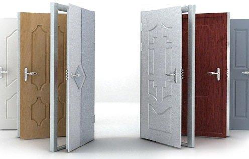 Металлические двери в