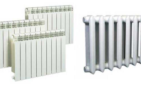 Различные модели радиаторов