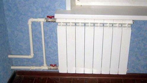 Замена радиаторов отопления в